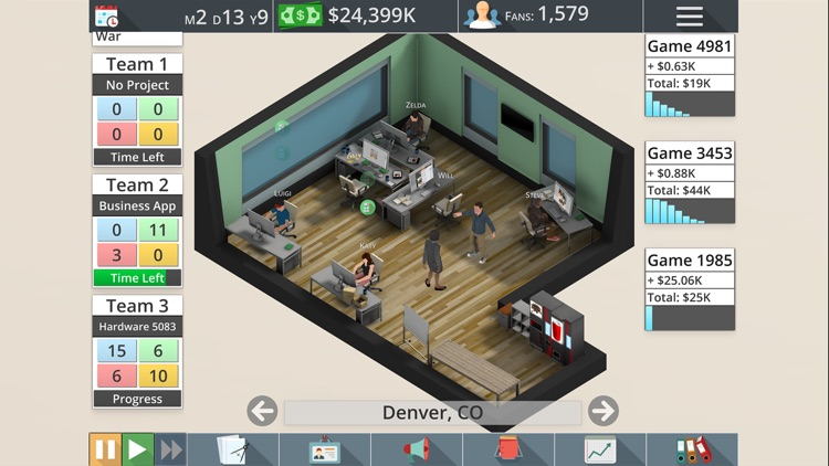 Game Studio Tycoon 3 Free screenshot-3