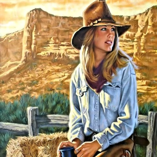 Cowgirls Wallpapers HD: Quotes Backgrounds with Art Pictures icon