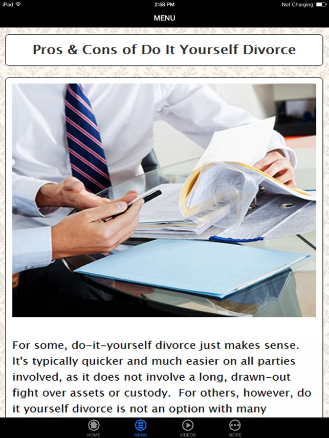 Do it yourself diy divorce best way to save money be do it yourself diy divorce best way to save money be simplified and avoid mistakes on the app store solutioingenieria Choice Image