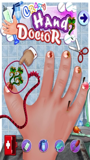 Crazy Hand & Nail Doctor Surgery - Free Kids Games on the App Store