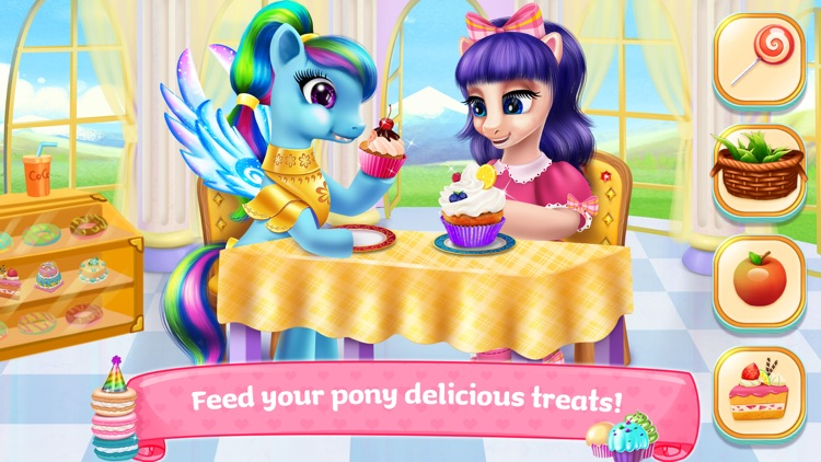 Pony Horse Princess Academy screenshot-3