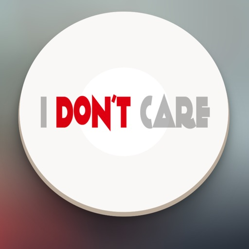 I Dont Care Button - Funny Sounds