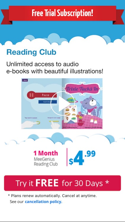 MeeGenius Children's Books:  Storybooks + Songbooks with Interactive Read Along Narration for Kids screenshot-3