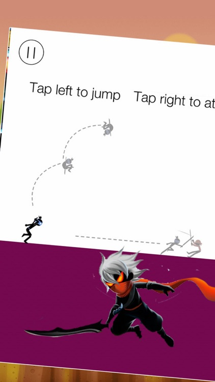 Crazy Man Jump and Jump - Stick Ninja Heroes Dash