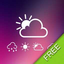 Weather Locker Free - Current and Forecasts Weather On Screen