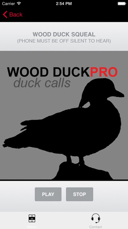 Wood Duck Calls - With Bluetooth - Ad Free