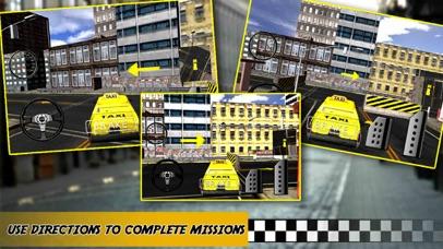 Yellow Taxi Driver Parking - Crazy Cab In New york City Traffic Simulator screenshot three