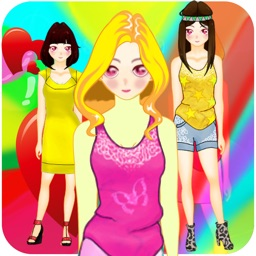 Anime Princess Dress Up - Cute Chibi Dresses Character Games For Girls