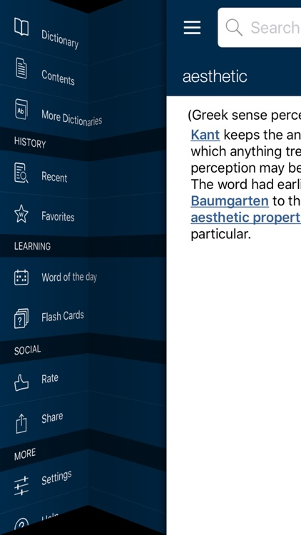 Oxford Dictionary of Philosophy screenshot-3