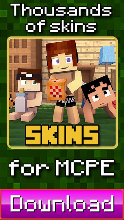 Baby Skins for Minecraft PE ( Pocket Edition ) - The Best Skin App ( Free )