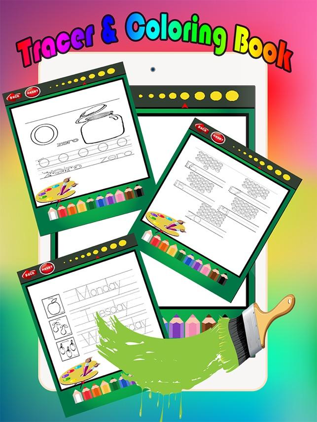 Einfache Malbuch Tracing Abc Malvorlagen Vorschule Spiele