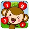 儿童游戏:皮皮猴数苹果(皮皮猴早教)儿童游戏免费2岁,3岁,4岁,宝宝游戏免费巴士大全、宝宝认数字学数字