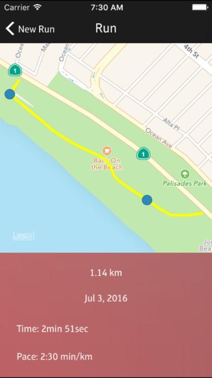 Daily Run - GPS Running, Walking, Cycling Tracker screenshot-3