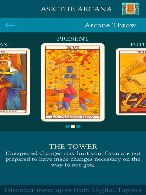 Ask the Arcana: Tarot telling   App Price Drops