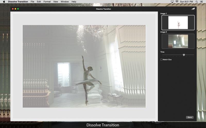 Dissolve Transition: Image blend effect screenshot 5