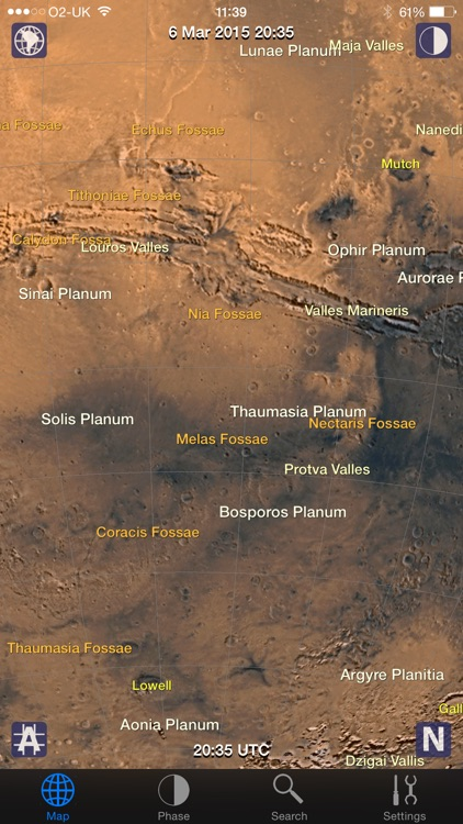 Mars Atlas screenshot-2