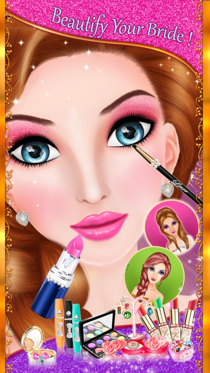 My Dream Wedding Day - Girls Makeup, Makeover & Dressup Salon screenshot-2