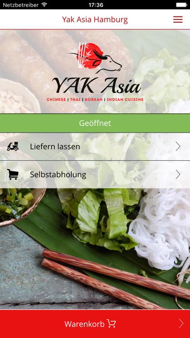 Yak Asia Hamburg screenshot one