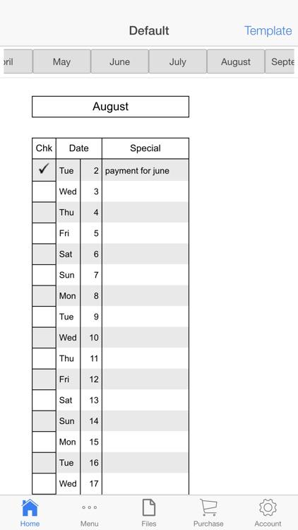 Monthly Rent Receipt screenshot-3