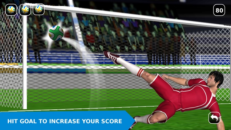 Flick Soccer 2016 Pro – Penalty Shootout Football Game screenshot-4