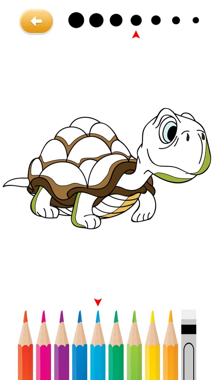 Animal Coloring Free Printable Worksheets for Kindergarten & Pre K Screenshot