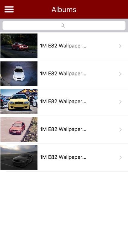 HD Car Wallpapers - BMW 1M E82 Edition screenshot-3
