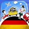 德语字典 - 带有抽认卡和母语发音的免费离线短语手册