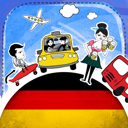 German Phrasi - Free Offline Phrasebook with Flashcards, Street Art and Voice of Native Speaker