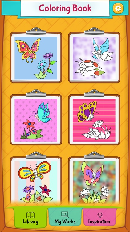 Butterfly Coloring Pages screenshot-4