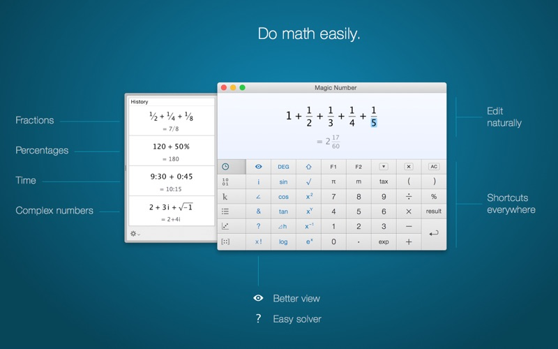 Magic Number – The Calculator Screenshots