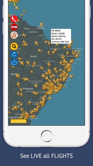 Screenshot of BR Tracker Free : Live Flight Tracking & Status1