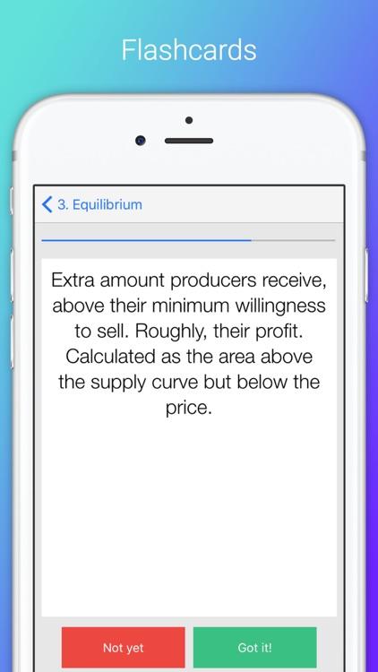 Microeconomics X: College and AP Economics screenshot-4