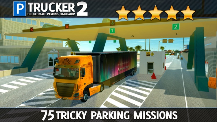 Trucker Parking Simulator 2 a Real Monster Truck & Lorry Driving Test screenshot-4