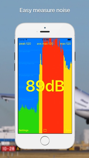 dB meter - noise measure Screenshot