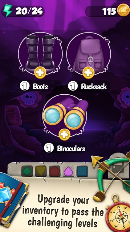 Jewel Mystery Deluxe Match 3: Find the Lost Diamond in the Crazy Color.s Adventure Mania screenshot-4