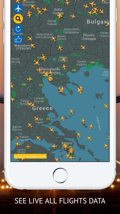 Flight Navigation Pro : Live Flight Tracking & Status screenshot-0