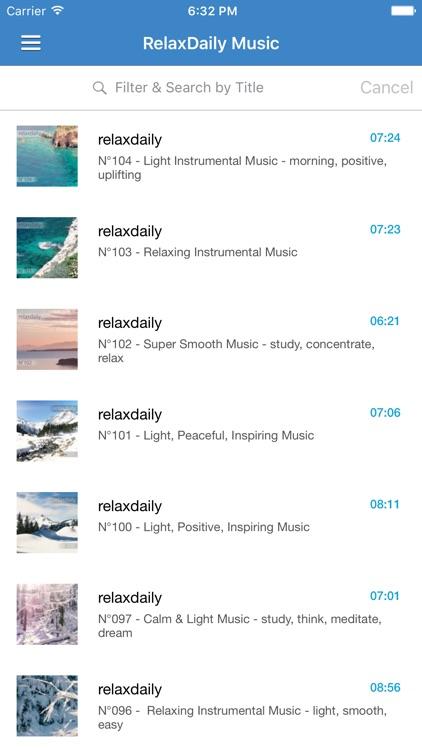Relaxation Music Free - Calming & Meditation Music screenshot-4