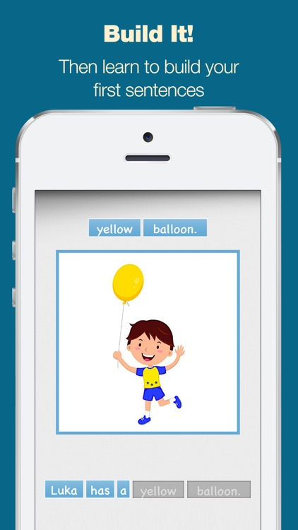 Simple Sentence Maker - Read and Build Your First Sentences screenshot-3