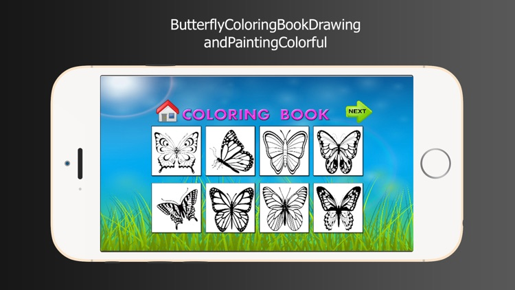 Butterfly Coloring Book Drawing and Painting Colorful screenshot-3