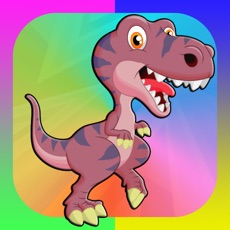 Activities of Dinosaur Coloring Book 2 - Dino Animals Draw,Paint And Color Educational All In One HD Games Free Fo...