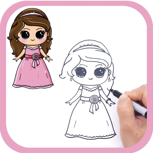 How To Draw Cute Girls Easy By Angia Le