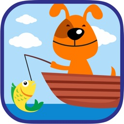Dog Fishing Free Kids Game