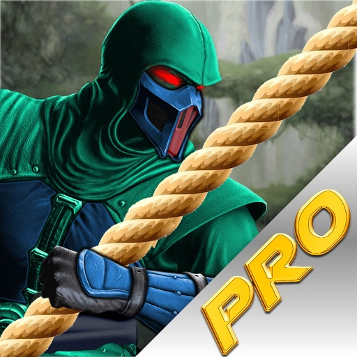 Rope Ninja Crush PRO - Revenge Fly War Lords