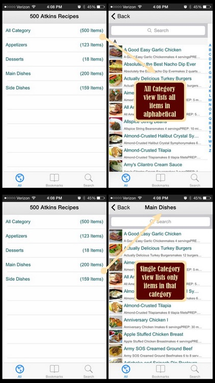 Atkins Recipes Plus+ screenshot-3
