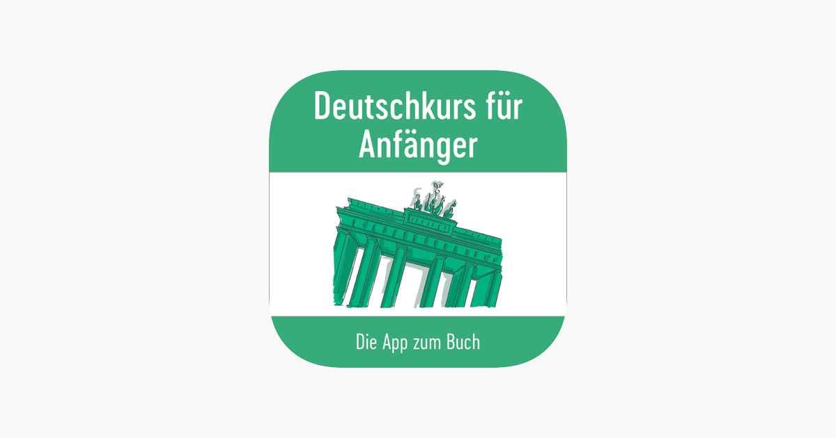 deutschkurs f r anf nger app zum buch on the app store. Black Bedroom Furniture Sets. Home Design Ideas