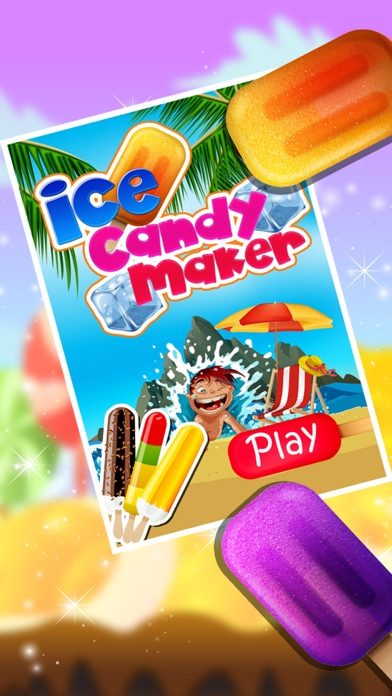 Ice Candy Maker – Make icy & fruity Popsicle in this cooking chef game screenshot one