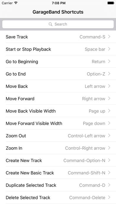 Shortcut: GarageBand Editionのおすすめ画像1