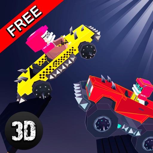 Pixel Car Fighting Arena 3D