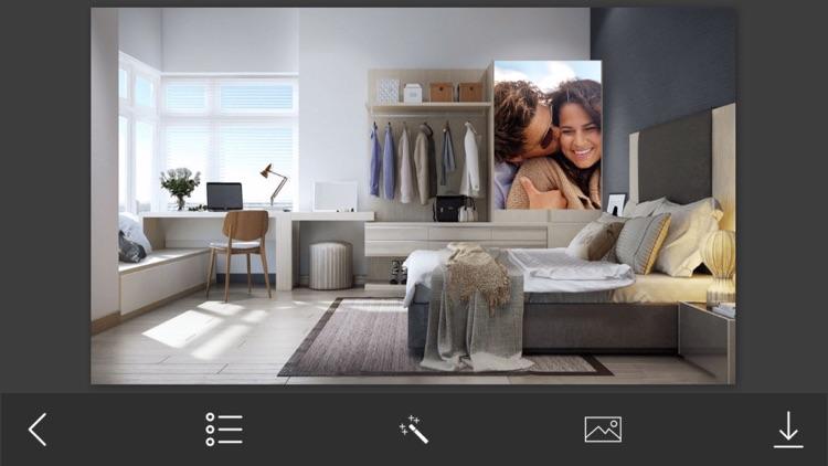 Bedroom Photo Frames - Instant Frame Maker & Photo Editor