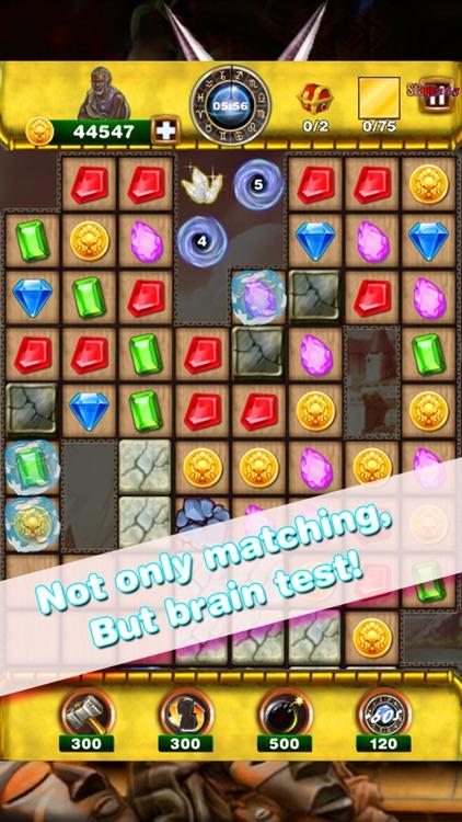 Super Gem Quest 3 - Diamond Match 3 Crush Mania screenshot-3